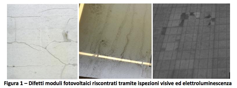 revamping fotovoltaico: i difetti dei moduli fotovoltaici