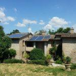 fotovoltaico solare termico pensiline: lavori svolti da crienergy